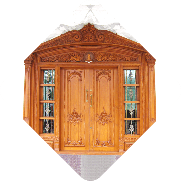 Custom Carved Wooden Main Door Manufacturer Bangalore Karnataka Door Designs
